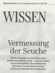 Artikel Süddeutsche Zeitung